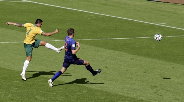 Brazil Soccer WCup Australia Netherlands