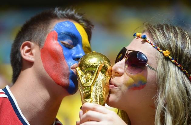 Soccer - FIFA World Cup 2014 - Group C - Colombia v Ivory Coast - Estadio Nacional