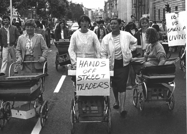 1983 Protest Lily Kearns
