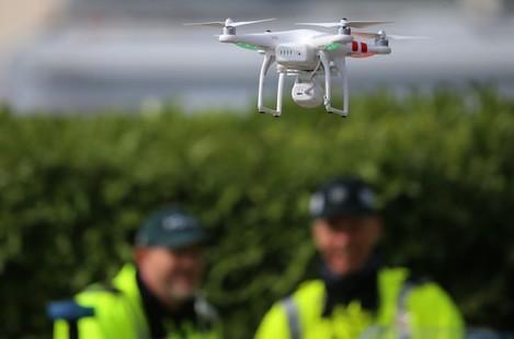 Drones in Belfast