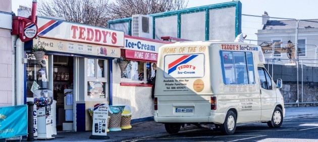 The Best Ice Cream In Ireland Is Available At Teddy's In Dun Laoghaire