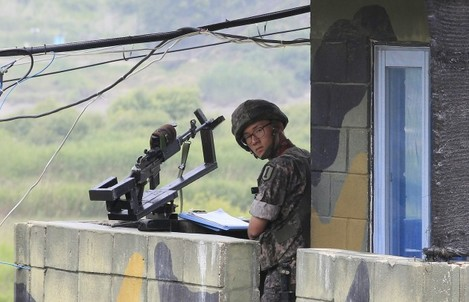 South Korea North Korea American Detained