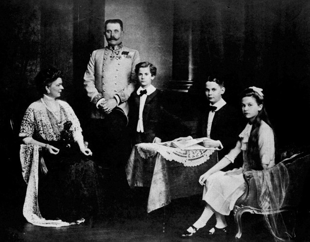 ARCHDUKE FRANZ FERDINAND OF AUSTRIA-HUNGARY : CIRCA 1914.