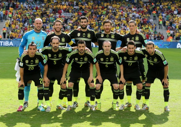 Soccer - FIFA World Cup 2014 - Group B - Australia v Spain - Arena da Baixada