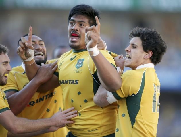 Australia France Rugby Union