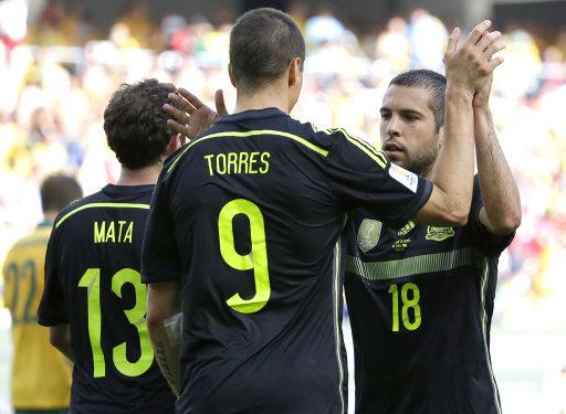 Brazil Soccer WCup Australia Spain