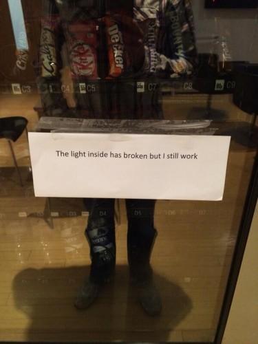 I know how you feel, vending machine.... I know how you feel - Imgur