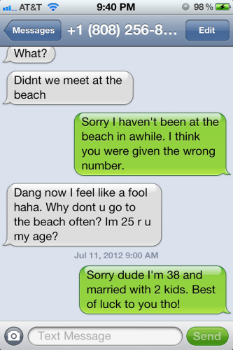 The 16 greatest ways to respond to a wrong-number text · The