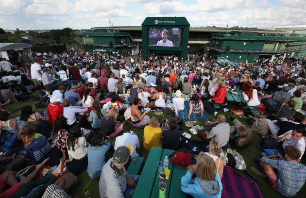 Tennis - 2014 Wimbledon Championships - Day Five - The All England Lawn Tennis and Croquet Club
