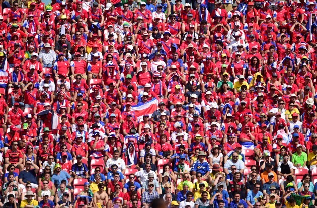 Soccer - FIFA World Cup 2014 - Group D - Italy v Costa Rica - Arena Pernambuco