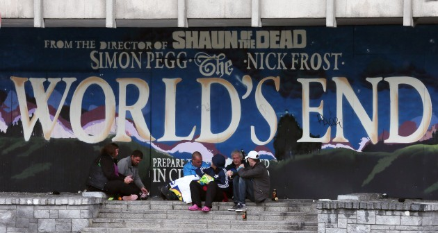 Worlds End Graffiti