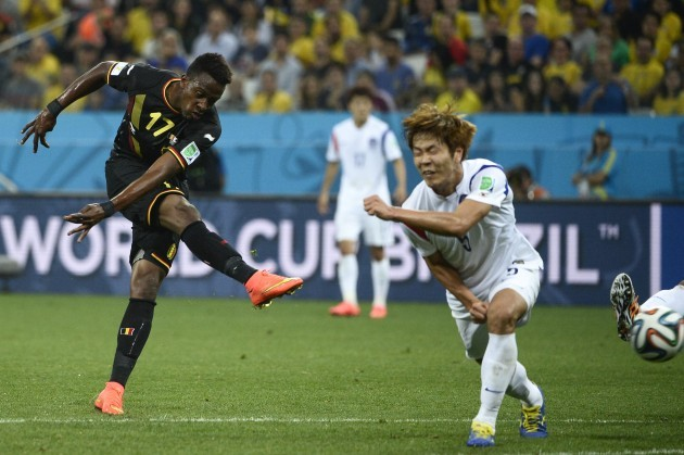 Soccer - FIFA World Cup 2014 - Group H - Korea Republic v Belgium - Arena de Sao Paulo Stadium