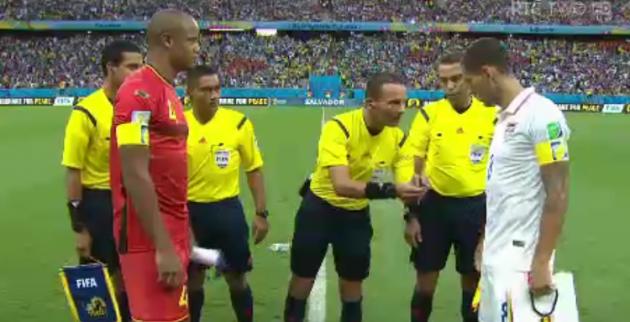 US Belgium captains