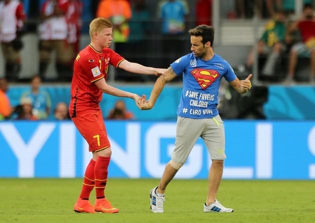 Soccer - FIFA World Cup 2014 - Round of 16 - Belgium v USA - Arena Fonte Nova
