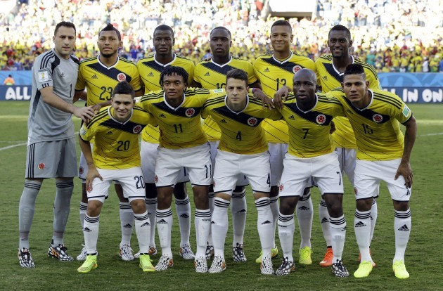 Brazil Soccer WCup Japan Colombia