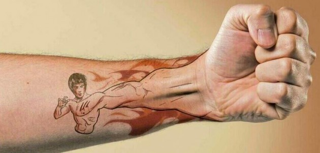 Clever Bruce Lee Tattoo - Imgur