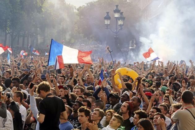 France Soccer WCup France Nigeria