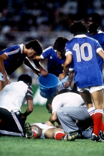Soccer - World Cup Spain 82 - Semi Final - West Germany v France