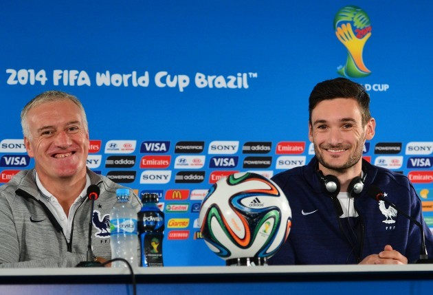 Soccer - FIFA World Cup 2014 - Round of 16 - France v Nigeria - France Training and Press Conference - Brasilia