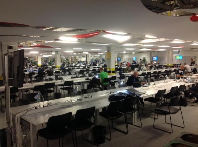 Maracana Media Room