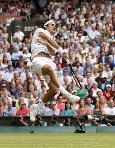 Tennis - 2014 Wimbledon Championships - Day Ten - The All England Lawn Tennis and Croquet Club