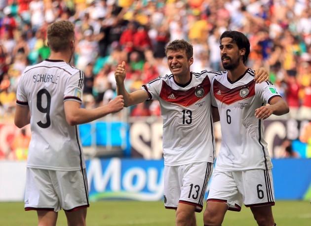 Soccer - FIFA World Cup 2014 - Group G - Germany v Portugal - Arena Fonte Nova