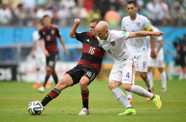 Soccer - FIFA World Cup 2014 - Group G - USA v Germany - Arena Pernambuco