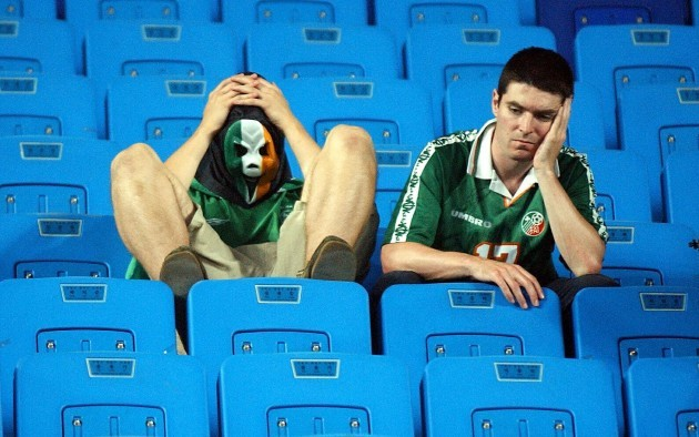 Spain v Rep of Ireland fans