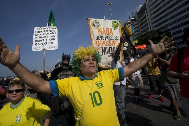 Brazil Soccer WCup Protests