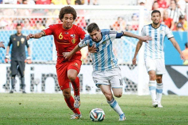 Soccer - FIFA World Cup 2014 - Quarter Final - Argentina v Belgium - Estadio Nacional de Brasilia