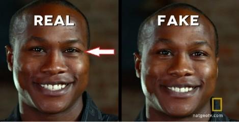 Real Fake Smile