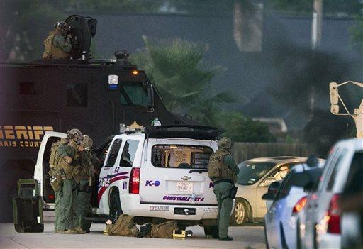 APTOPIX Houston Suburban Shooting