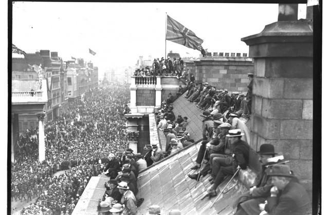 Victory parade, Dublin (1919)