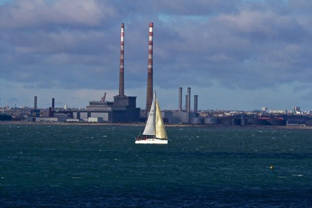 Tropical waters, or industrial heartland?