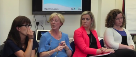 spunout women in pol panel