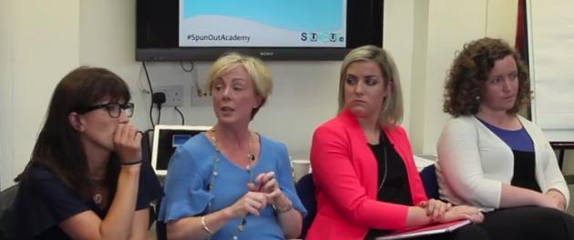 spunout women in pol panel