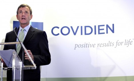 A US-owned medical devices firm Covidien which employs more than 600 people in County Westmeath is to transfer the manufacturing line for one of its products there to Thailand.