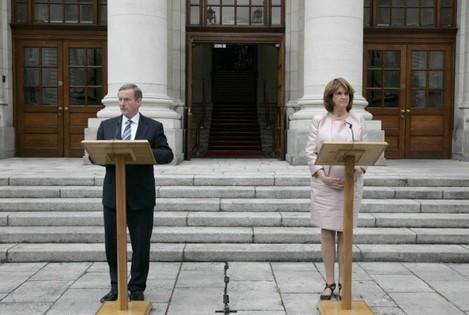 The Taoiseach, Enda Kenny T.D., and the