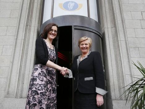Theresa Villiers Visits Ireland