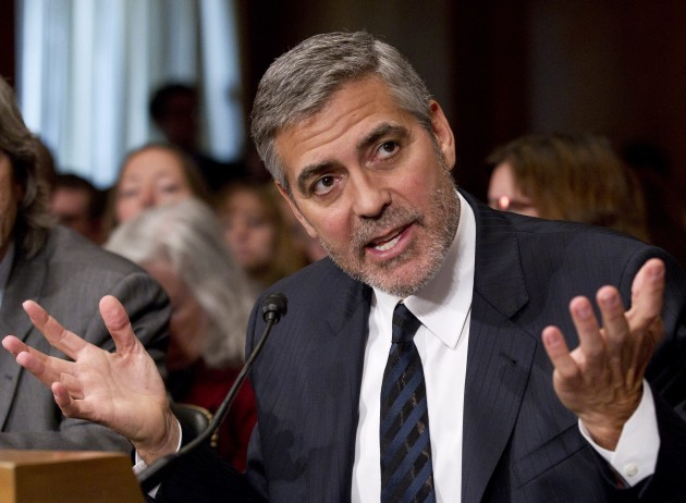 George Clooney testifies before Congress on Sudan - Washington
