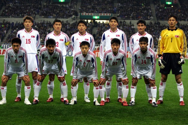 Soccer - World Cup 2006 Qualifier Asian Final Stage Group B - Japan v North Korea - Saitama Stadium 2002