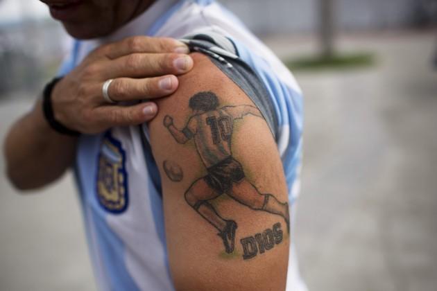 Brazil WCup Soccer Argentina