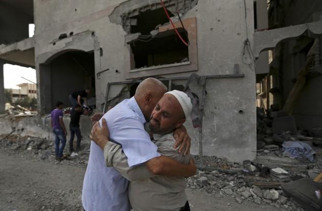 CORRECTION Mideast Israel Palestinians