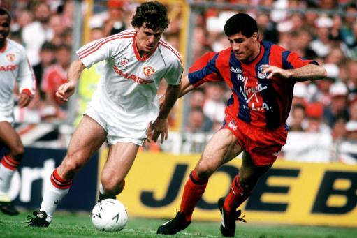Soccer - FA Cup Final 1990 - Manchester United v Crystal Palace