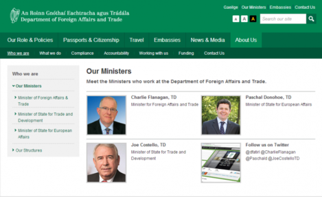 donohoe foreign affairs