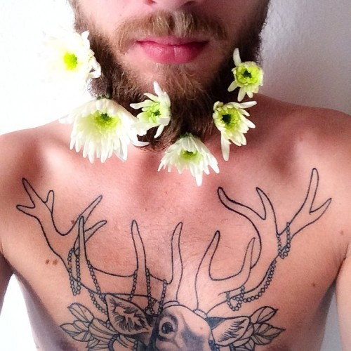 #flowerbeard