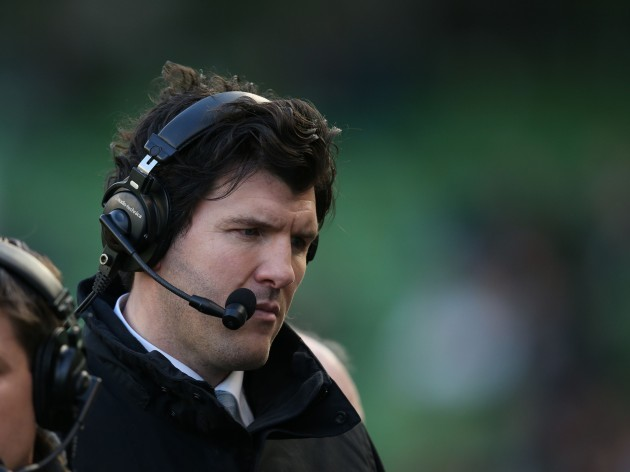 Shane Horgan working for RTE Television