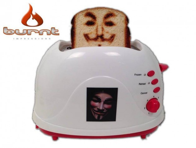 You can now a toaster that burns your selfie onto bread