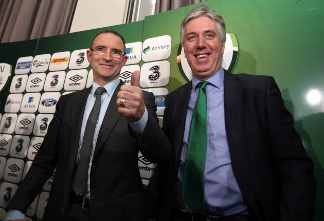 Martin O'Neil and John Delaney