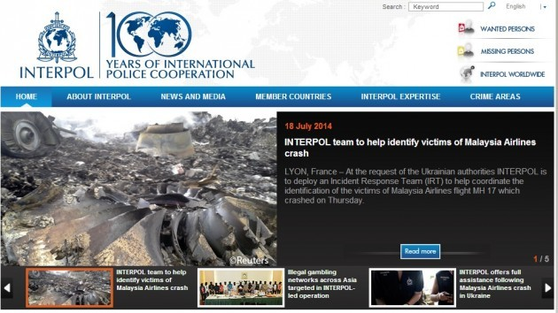 Interpol MH17